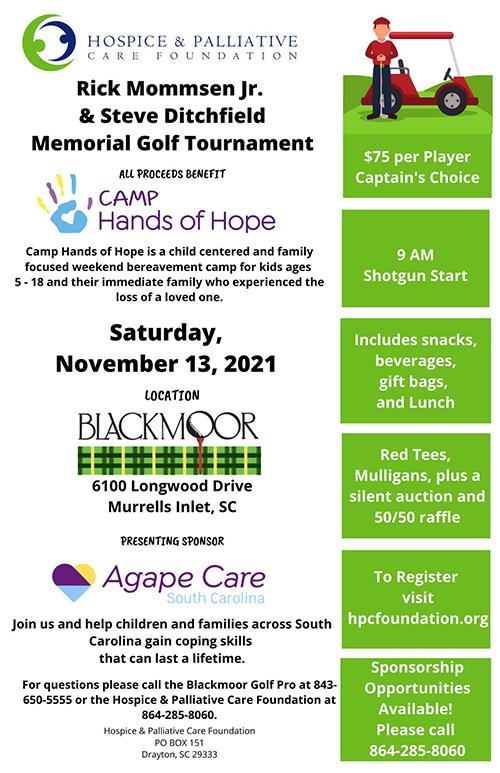 Rick Mommsen Jr. & Steve Ditchfield Memorial Golf Tournament